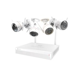 Kit 4 caméras WIFI avec...